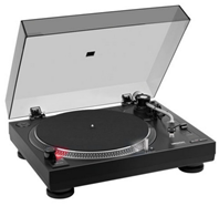 Bild zu MEDION X64999 DJ-Plattenspieler (zum Scratchen geeignet, Audio-Ausgang Stroboskopbeleuchtung, Magnet-Tonabnehmer-System, USB, Cinch) für 129€
