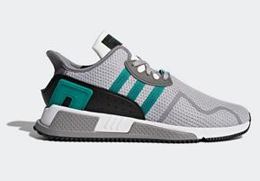 Bild zu adidas EQT Cushion ADV Herren Sneaker grau/grün für 68,22€