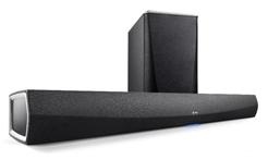 Bild zu Denon HEOS HomeCinema Soundbar (inkl. Wireless-Subwoofer) für 408,90€