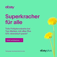 Bild zu eBay: 10% Rabatt auf alle WOW Plus Artikel (nur eBay Plus Mitglieder)