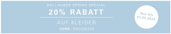 Bild zu Hallhuber: 20% Rabatt auf Kleider, so z.B. Brautkleid für 399,96€