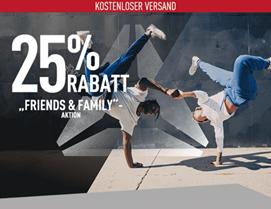 Bild zu Reebok: nur heute 25% Rabatt auf ausgewählte Artikel + kostenlose Lieferung