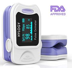 Bild zu Hylogy Pulsoximeter Fingeroximeter (Sauerstoffgehalt im Blut SpO2 und Pulsfrequenz) für 11,49€