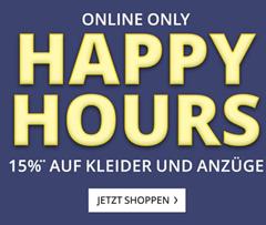Bild zu Peek & Cloppenburg*: 15% Rabatt auf Kleider und Anzüge