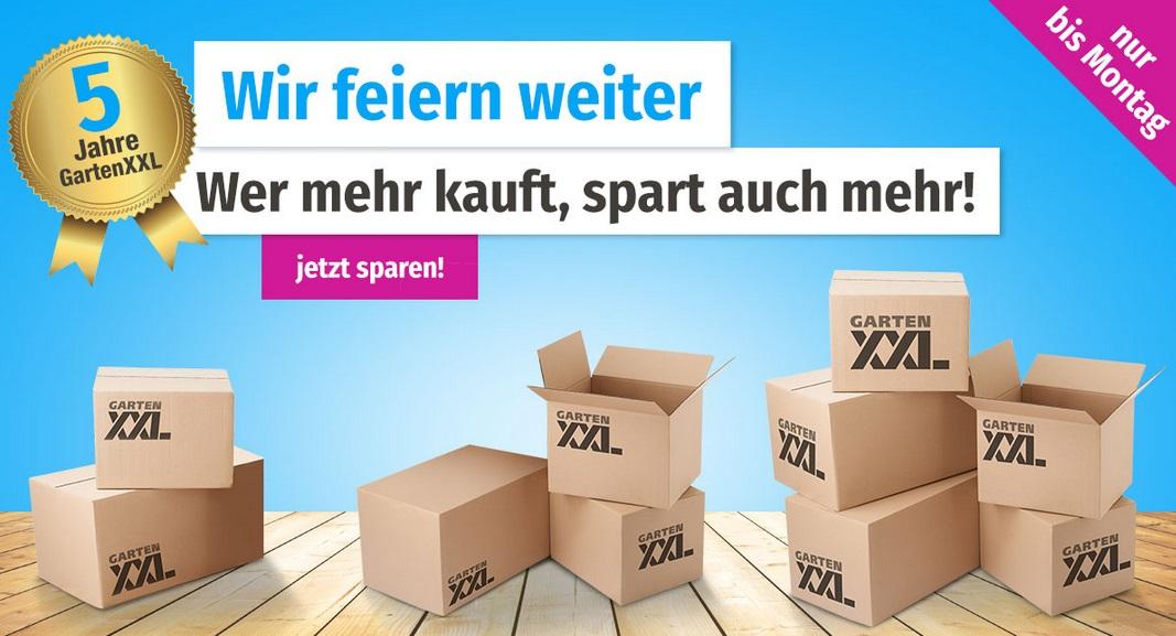 Bild zu GartenXXL: Bis zu 10%€ Rabatt auf Alles (abhängig vom Bestellwert)