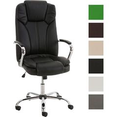 Bild zu Plus: CLP XXL Bürostuhl XANTHOS mit Polsterung und Kunstlederbezug (höhenverstellbar, belastbar bis 210 kg) für 94,99€ inkl. Versand (Vergleich: 117€)