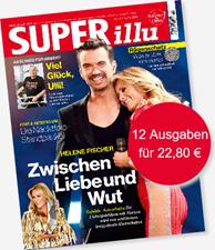 """Bild zu [wieder da] 11 Ausgaben """"Superillu"""" für 20,90€ + 20€ Verrechnungsscheck"""