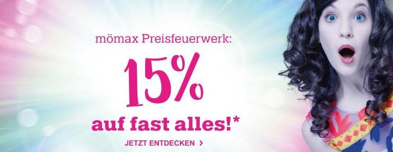 Bild zu Nur heute: 15% Rabatt auf (fast) alles bei Mömax