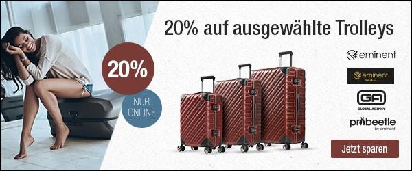 Bild zu Galeria Kaufhof: 20% Rabatt auf ausgewählte Trolleys