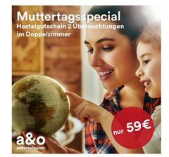 Bild zu A&O Hotelgutschein: 2 Nächte für 2 Personen für 59€ (oder 3 Nächte für eine Person im Mehrbettzimmer für 33€)