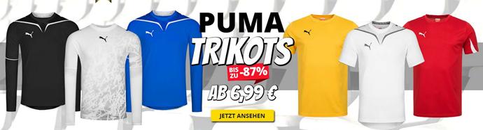 Bild zu SportSpar: Puma Trikots ab 6,99€ zzgl. einmalig Versand
