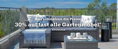 Bild zu Mömax: 30% Rabatt auf (fast) alle Gartenmöbel