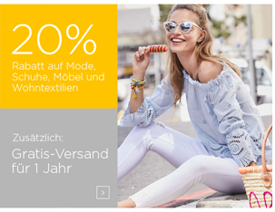 Baur Neukunden: 20% Rabatt auf Mode, Schuhe, Möbel oder ...