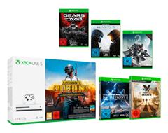 Bild zu [Super] Xbox One S 1TB Konsole inkl. Playerunknown's Battleground + 5 Spiele für 239€ (Vergleich: 369,09€)
