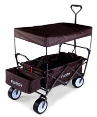 Bild zu FUXTEC Bollerwagen CT350 braun für 84€