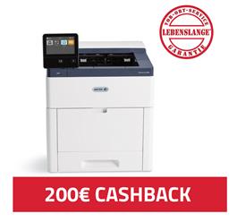 Bild zu [wieder da] Xerox VersaLink C600DN Farblaserdrucker (A4, 1.200 x 2.400 dpi, bis zu 53 Seiten/min., Duplex, Netzwerk) für 599€ + 200€ Cashback