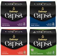 Bild zu 100 Kapseln DALLMAYR Capsa für Nespresso für 19,90€ (MHD 30.06.2018)