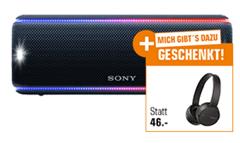 Bild zu SONY SRS-XB31 Bluetooth-Lautsprecher + Sony WH-CH500 Kopfhörer für 125€
