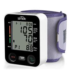 Bild zu SIMBR Blutdruck- und Pulsmessung mit großer Manschette für zwei Benutzer (2 x 90 speicherbare Messungen) für 13,99€