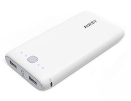 Bild zu AUKEY Power Bank 20000mAh (3,1A Max. mit 2 Anschlüsse) inkl. Micro-USB-Kabel für 15,99€