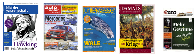 Bild zu Nur noch diese Woche: gute Zeitschriftenabos bei Abomix mit erhöhter Prämie