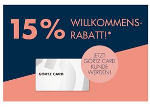 Bild zu Görtz Kundenkarte bestellen + 15% Rabatt auf fast Alles erhalten
