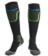 Kompressionsstrümpfe, Sable Wandern Socken Laufsocken, Kompressionssocken mit atmungsaktivem Netzstoff,[...]