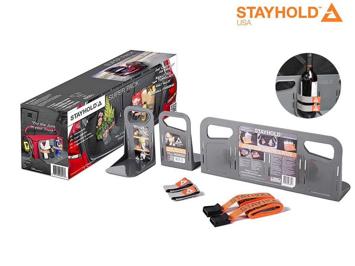 Bild zu Kofferraum Ladungssicherung Stayhold Super Pack für 23,90€ (Vergleich: 29,95€)