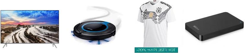Bild zu Die restlichen eBay WOW Angebote, z.B. 55 Zoll LED-Fernseher Philips 55PUS6262 für 499€