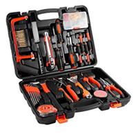 100-teiliger Universale Werkzeugkoffer, Premium Werkzeugset für den Heimwerker, Werkzeugsortiment mit [...]