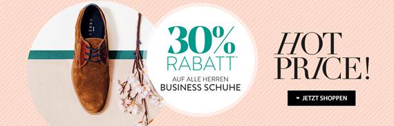 Roland Schuhe: 30% Rabatt auf alle Herren Business Schuhe