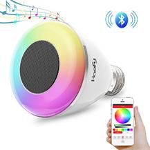 Bluetooth Glühbirne E27 6W Glühbirne Lautsprecher Smart Birne Dimmbare 6W RGB Licht Lamp mit musik iOS [...]