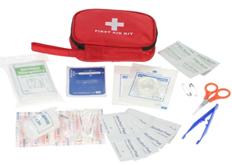 Carevas 40PCS wasserdichte Erste-Hilfe-Ausrüstung FDA genehmigt rot - Tomtop com (2)