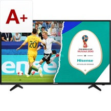 Hisense H43NEC2000S, LED-Fernseher schwarz, HDMI, VGA, Audio, Triple Tuner