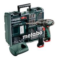 Bild zu Metabo 10,8V Akku-Schlagbohrmaschine PowerMaxx (SB Basic Set) für 129,95€