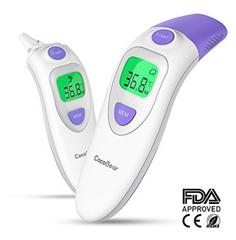 Bild zu CocoBear 4-IN-1 Thermometer (Ohrthermometer, Stirnthermometer) für 11,97€