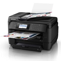 Bild zu Epson WorkForce WF-7720DTWF Tintenstrahl-Multifunktionsgerät (A3, 4-in-1. Drucker, Kopierer, Scanner, Fax, Wlan, Duplex) für 178€ (Vergleich: 212,86€)