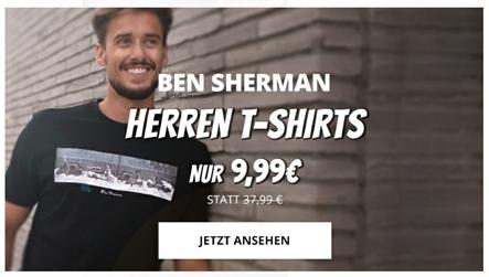 Bild zu Ben Sherman T-Shirts für je 9,99€ zzgl. Versand