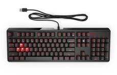 Bild zu Omen by HP Gaming Tastatur 1100 (N-Key-Rollover, beleuchtet, mechanisch, USB) schwarz für 49,99€
