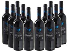 Bild zu Weinvorteil: 12 Flaschen Blue Bird – Merlot – Pays d'Oc IGP für 39,96€
