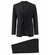 """Bild zu s.Oliver Herren Anzug """"Cosimo Flex"""" Slim Fit Schwarz 2-teilig für 99,90€"""