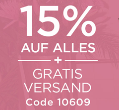 Bild zu Heine: 15% Rabatt auf alles + gratis Versand (ab 59€ MBW)