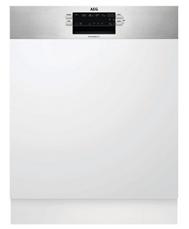 Bild zu AEG FAV130IM teilintegrierter Geschirrspüler (60 cm, Edelstahl, A+++ – inklusive Glaskorb) für 399€