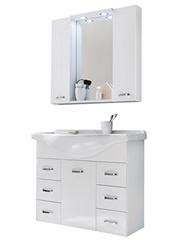 Bild zu Trendteam Badmöbel-Set Aqua (2-teilig) für 249,99€
