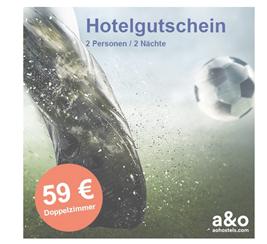 Bild zu A&O Hotelgutschein: 2 Nächte für 2 Personen für 59€