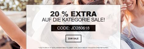 Bild zu Jeans-Direct: 20% Extra-Rabatt auf alle Artikel der Kategorie SALE (40€ MBW)