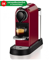 Krups XN7405 New CitiZ Nespresso Kaffeekapselmaschine Cherry Rot (Nespresso) günstig kaufen