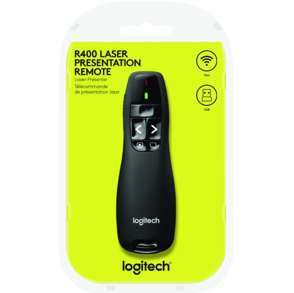 Bild zu Logitech R400 Wireless Presenter für 19€ (Vergleich: 25,89€)