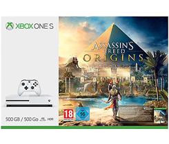 MICROSOFT Xbox One S 500GB Konsole - Assassins's Creed Origins Bundle 889842213287 eBay