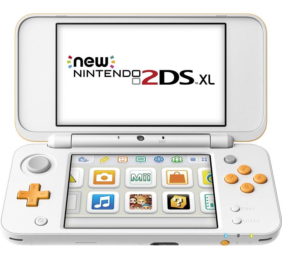 Bild zu Nintendo New Nintendo 2DS XL (Weiß/Orange) für 111€ (Vergleich: 129,26€)